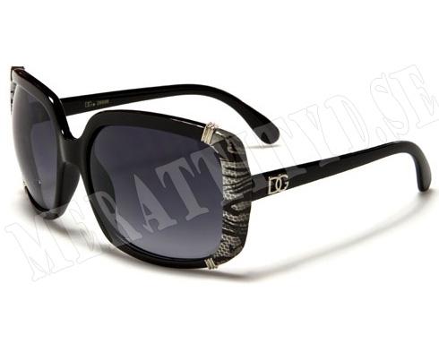 DG Glamour - Grått mönster - Solglasögon