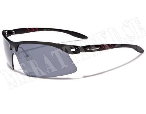 Xloop Slim - Röd - Solglasögon