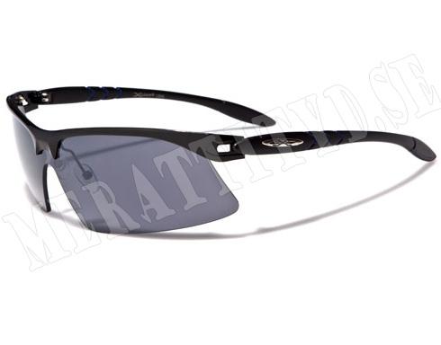 Xloop Slim - Svart - Solglasögon