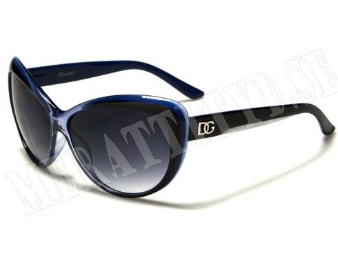 DG Cateye - Blå - Solglasögon