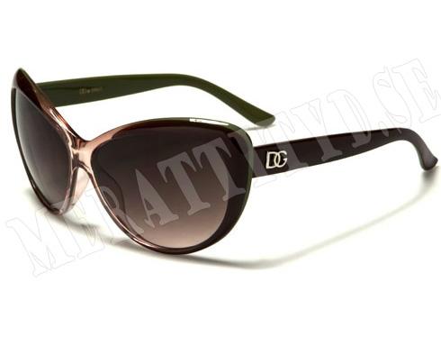 DG Cateye - Rosa/Grön - Solglasögon