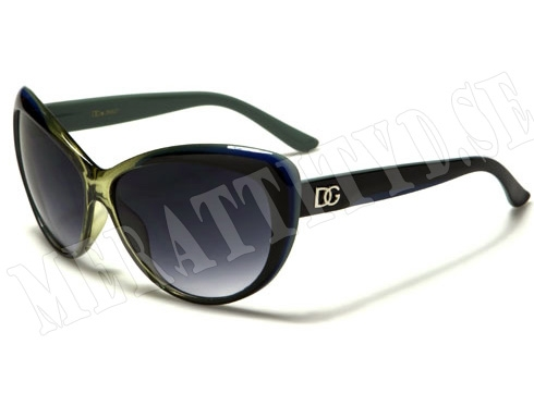 DG Cateye - Grön - Solglasögon