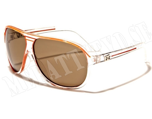 DG Aviator Kids - Orange - Barnsolglasögon