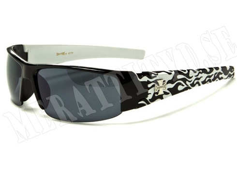 Choppers Slim Bike - Vit - Solglasögon
