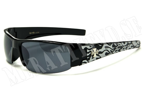 Choppers Slim Bike - Silver - Solglasögon