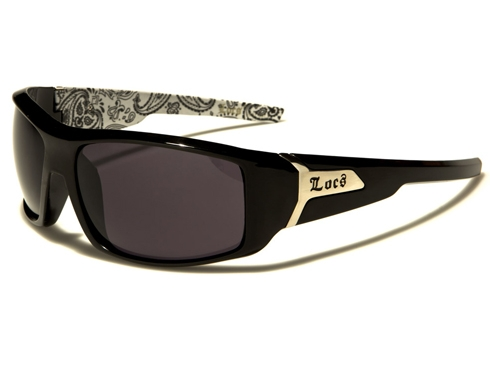 Locs Killer - Vitt mönster - Solglasögon