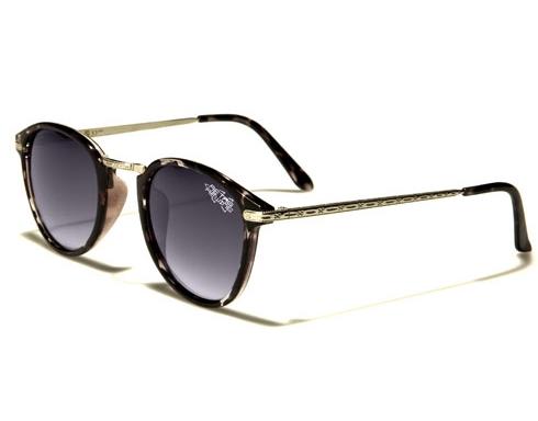 Wayfarer Retro rewind -svarta-leopard solglasögon