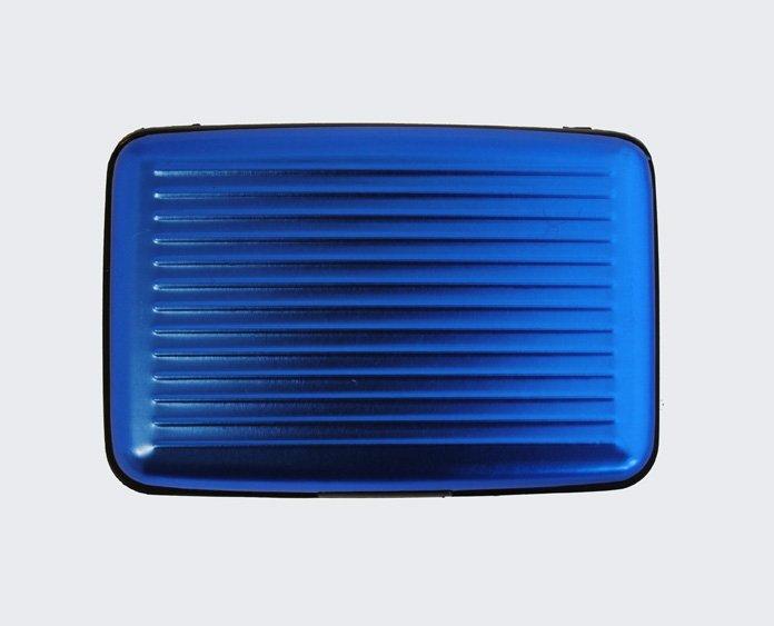 Plånbok & Kreditkortshållare - metallic - blå