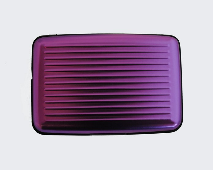 Metallic case purple