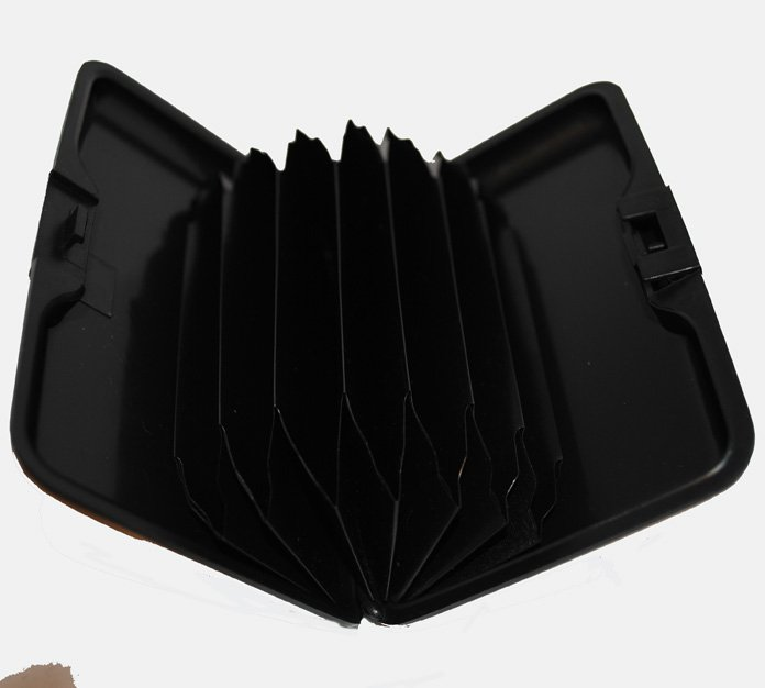 Plånbok & Kreditkortshållare - metallic - svart