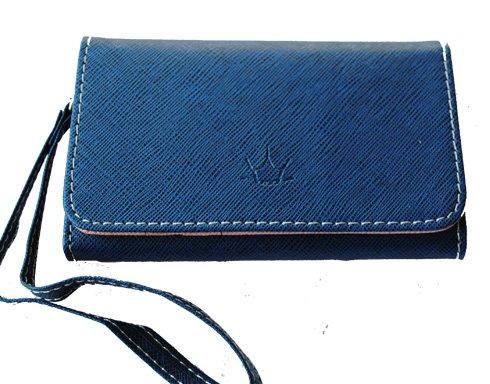 Mobilväska / plånbok - SUPERIOR - blå