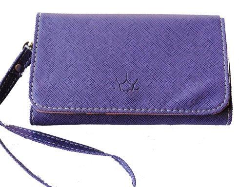 Mobilväska / plånbok - SUPERIOR - lila