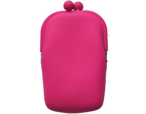 Silicon Retro - rosa - mobilväska/plånbok