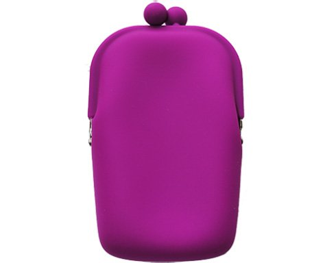 Silicon Retro - lila - mobilväska/plånbok