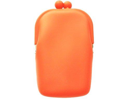 Silicon Retro - orange - mobilväska/plånbok