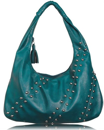 Hobo - handväska - blå/grön