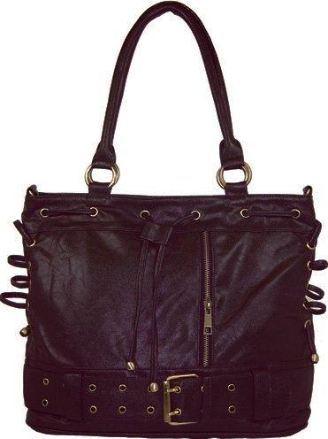 Drawstring - handväska - svart