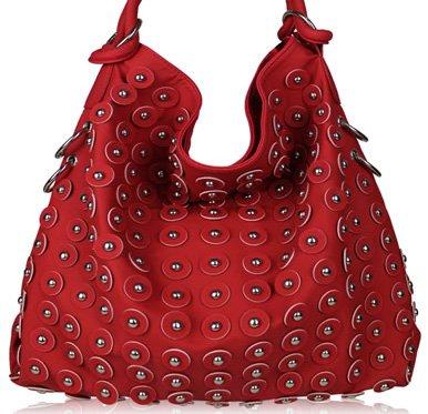 Flower - handväska - röd