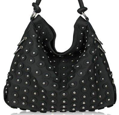 Flower - handväska - svart