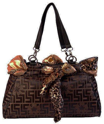 Fashion Scarf - handväska - brun