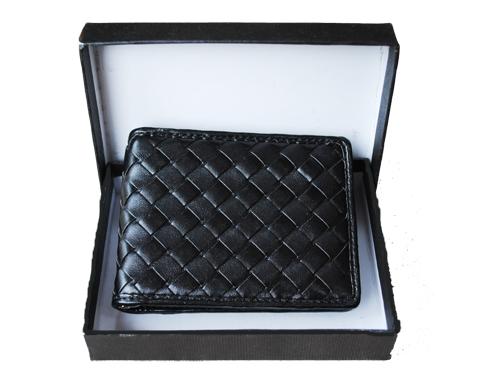 Made - Quiltad plånbok - svart