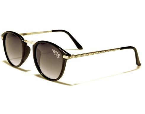 Wayfarer Retro Rewind -Svart/Guld - Solglasögon
