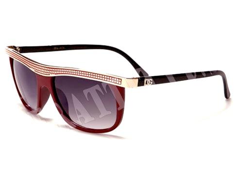 DG Line - Röd - Solglasögon