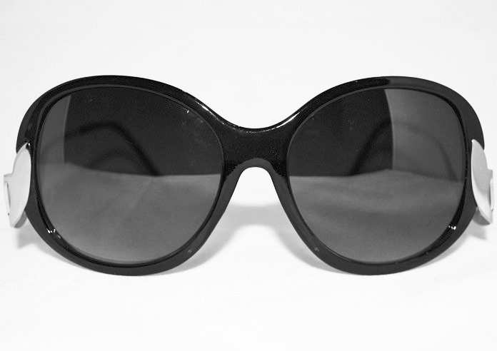 Glamour - Grön - Solglasögon
