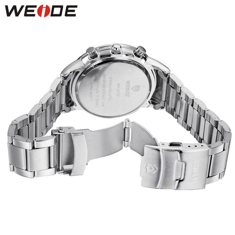 Weide - Monaco - silver/silver - Herrklocka