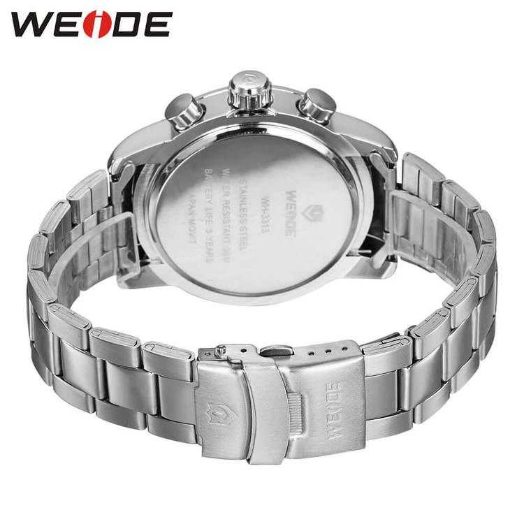 Weide - Professional - silver/svart - Herrklocka