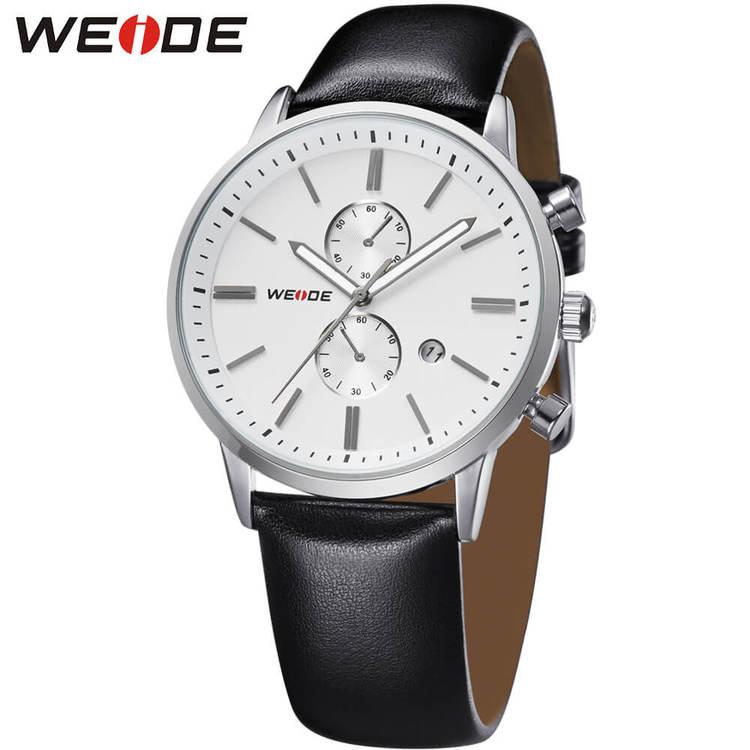 Weide - Timeless - svart/vit - Herrklocka