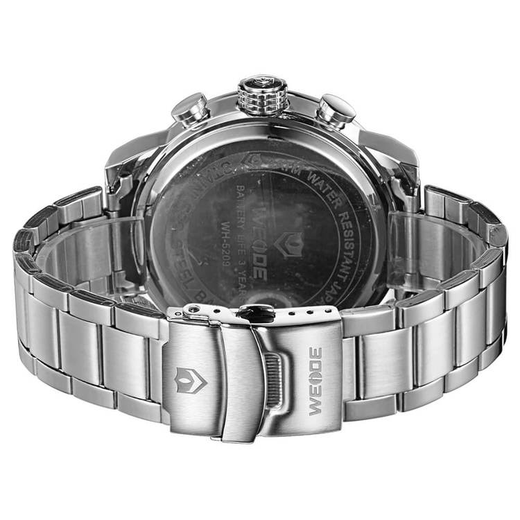 Weide - Attention - silver/vit - Herrklocka