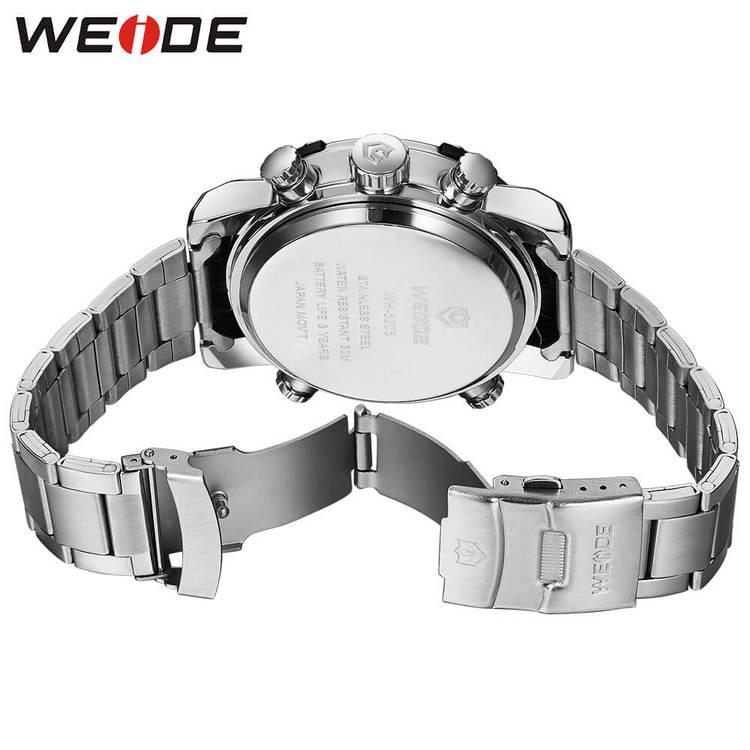 Weide - Exclusive - silver/svart - Herrklocka