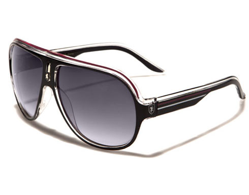Khan - Pilot solglasögon -rosa - Solglasögon
