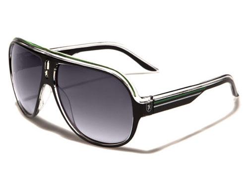 Khan - Pilot solglasögon -Gröna - Solglasögon