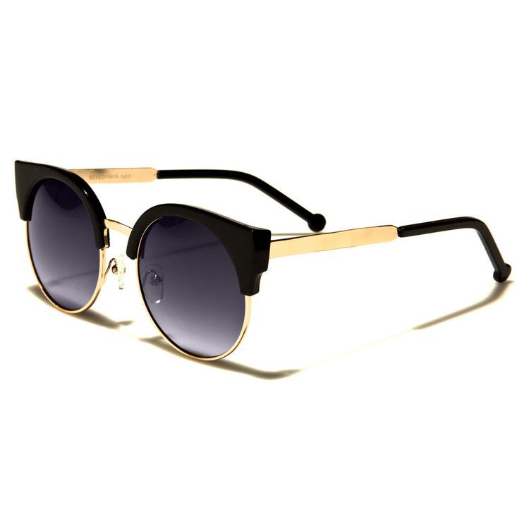 Wayfarer- Glamour gold -svarta - Solglasögon
