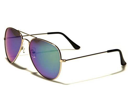 AirForce Pilot - Silver blå - Solglasögon