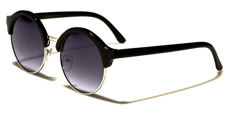 Retro - Svarta - Solglasögon