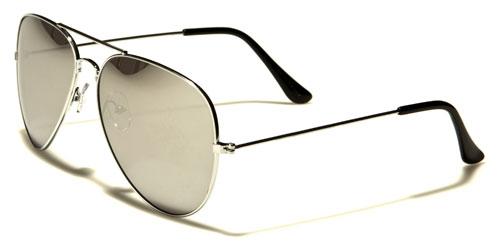 AirForce classic Pilot - Silver Spegelglas - Solglasögon