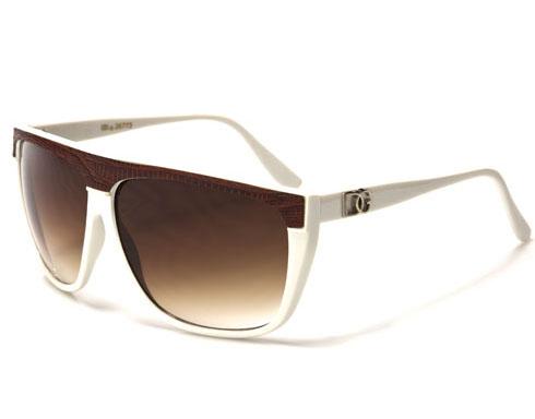 DG Snake - Vit - Solglasögon