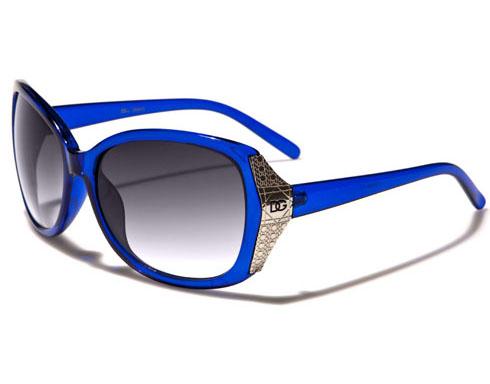 DG Glam - Blå - Solglasögon