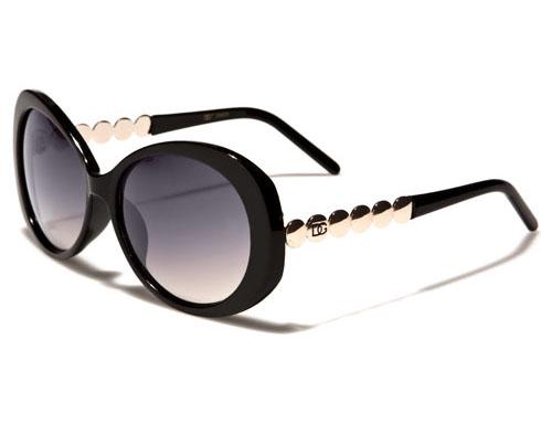 DG Silver - Svart - Solglasögon