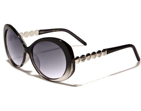 DG Silver - Svart/Klar - Solglasögon