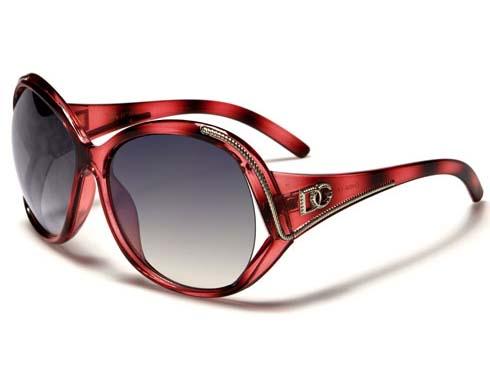 DG Silverline - Röd - Solglasögon