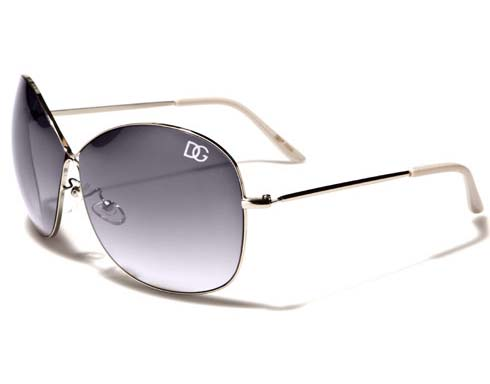 DG Metal - Vit - Solglasögon