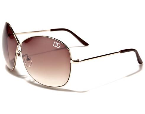 DG Metal - Brun - Solglasögon