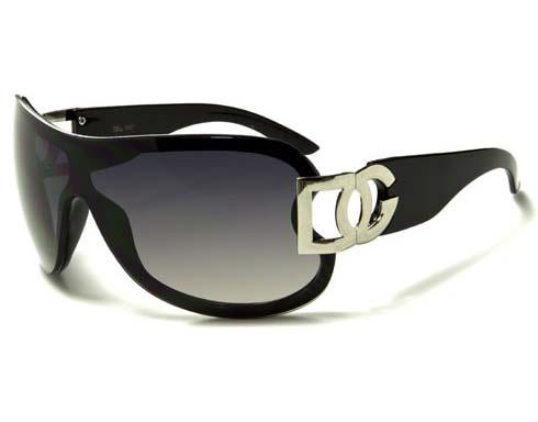 DG Spotlight - Svart/Silver - Solglasögon