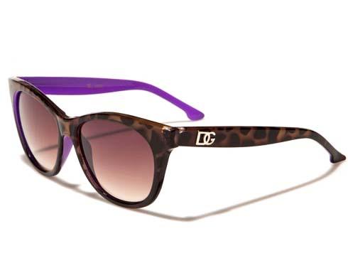 DG Color - Lila - Solglasögon