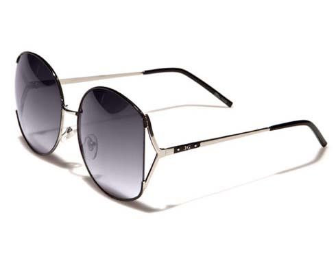DG Sunshade - Svart/Silver - Solglasögon