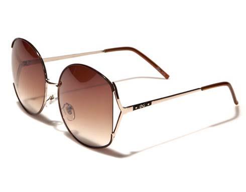 DG Sunshade - Brun - Solglasögon